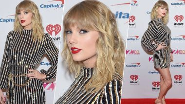 Yo or Hell No? Taylor Swift's Sequined Dress by Rixo at iHeartRadio's Z100 Jingle Ball 2019